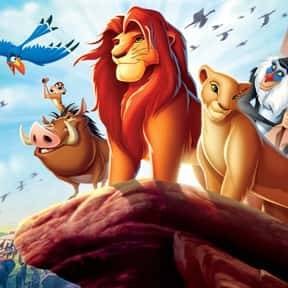 The Lion King is listed (or ranked) 1 on the list The Best '90s Cartoon Movies