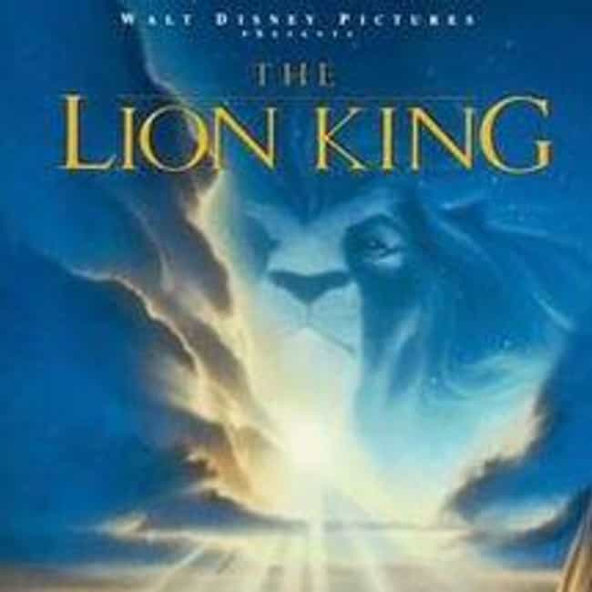 The Lion King is listed (or ranked) 4 on the list The Best Animated Movie Posters