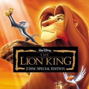 The Lion King is listed (or ranked) 1 on the list Musical Movies With the Best Songs