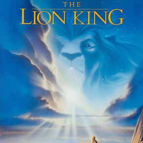 The Lion King is listed (or ranked) 1 on the list The Best Disney Movies Starring Animals