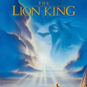The Lion King is listed (or ranked) 2 on the list Animated Movies That Make You Cry the Most