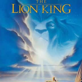 The Lion King is listed (or ranked) 13 on the list The Best Movies for 3-Year-Olds