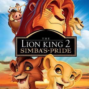The Lion King II: Simba's  is listed (or ranked) 16 on the list The Greatest Animal Movies Ever Made