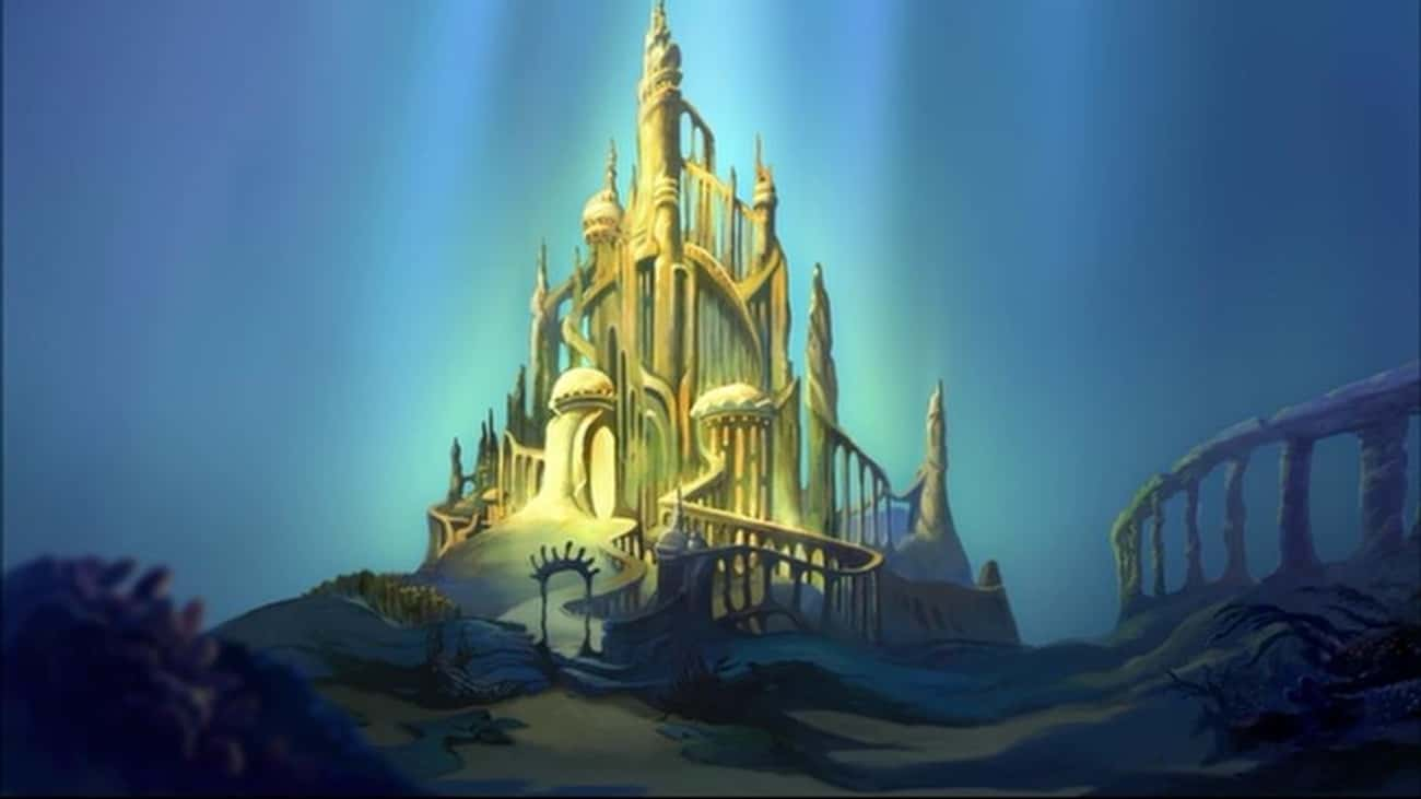The Little Mermaid is listed (or ranked) 4 on the list The Best Castles in Disney Animated Films
