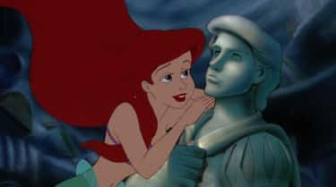 """Ariel And Eric In 'The Lit is listed (or ranked) 1 on the list Movie Characters Who Said """"I Love You"""" Way, Way Too Quickly, Ranked By How Fast They Said It"""