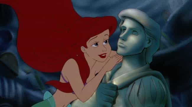 "The Little Mermaid is listed (or ranked) 1 on the list Movie Characters Who Said ""I Love You"" Way, Way Too Quickly, Ranked By How Fast They Said It"