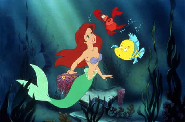 The Little Mermaid is listed (or ranked) 2 on the list Movies That Take Place Primarily Underwater, Ranked