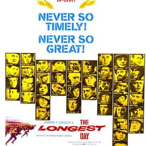 The Longest Day is listed (or ranked) 25 on the list The Best Movies of the '60s
