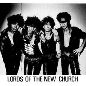 The Lords of the New Church is listed (or ranked) 12 on the list The Best Glam Punk Bands