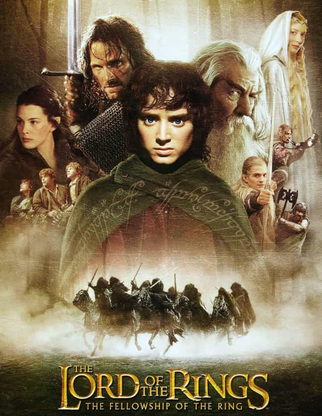 The Lord of the Rings film tri... is listed (or ranked) 4 on the list The Best Adventure Shows & Movies, Ranked