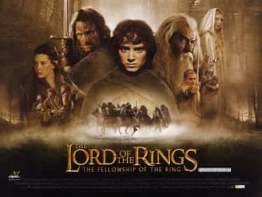The Lord of the Rings: The Fel is listed (or ranked) 1 on the list The Best Fantasy Movie Posters