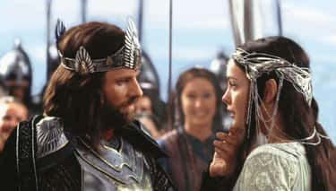 Aragorn And Arwen In 'The Return of the King'