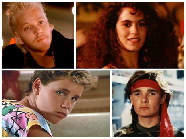 The Lost Boys is listed (or ranked) 7 on the list The Sexiest Movie Casts from the 80s