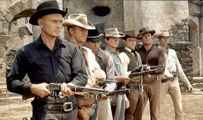 The Magnificent Seven is listed (or ranked) 3 on the list Wild West Movies That Are Probably More Fun Than Going Out On A Friday Night