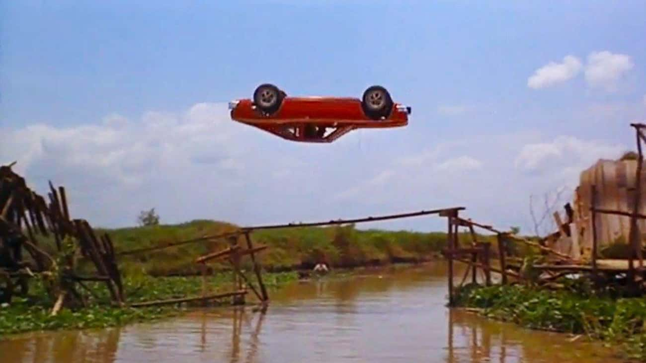 The Corkscrew Jump In 'The Man is listed (or ranked) 4 on the list Famous Movie Scenes That Needed Only One Take