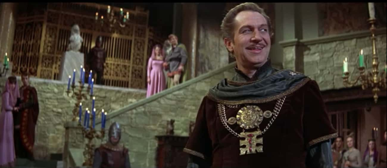 The Masque of the Red Death is listed (or ranked) 3 on the list 14 Horror Movies Where Rich People Are The Villains