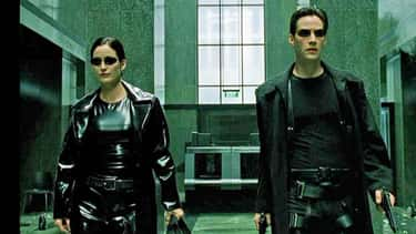 The Matrix is listed (or ranked) 1 on the list 21 Films Accused of Copyright Infringement