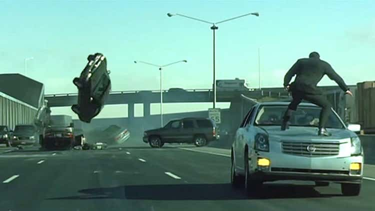'The Matrix Reloaded' - The Freeway Chase
