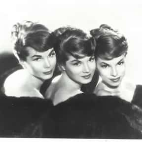 The McGuire Sisters is listed (or ranked) 9 on the list The Best Girl Groups