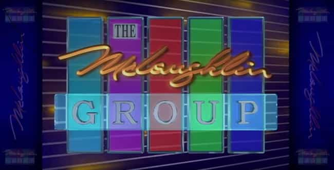 The McLaughlin Group is listed (or ranked) 4 on the list The Best Sunday Morning Shows