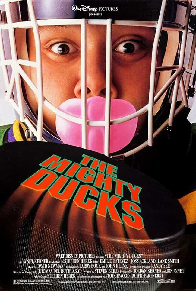 The Mighty Ducks is listed (or ranked) 1 on the list All the Mighty Ducks Movies and Series, Ranked Best to Worst