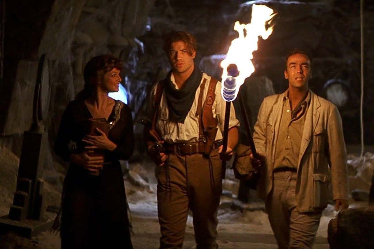 The Mummy is listed (or ranked) 4 on the list 'Stupid' Action Movies That Are Secretly Brilliant