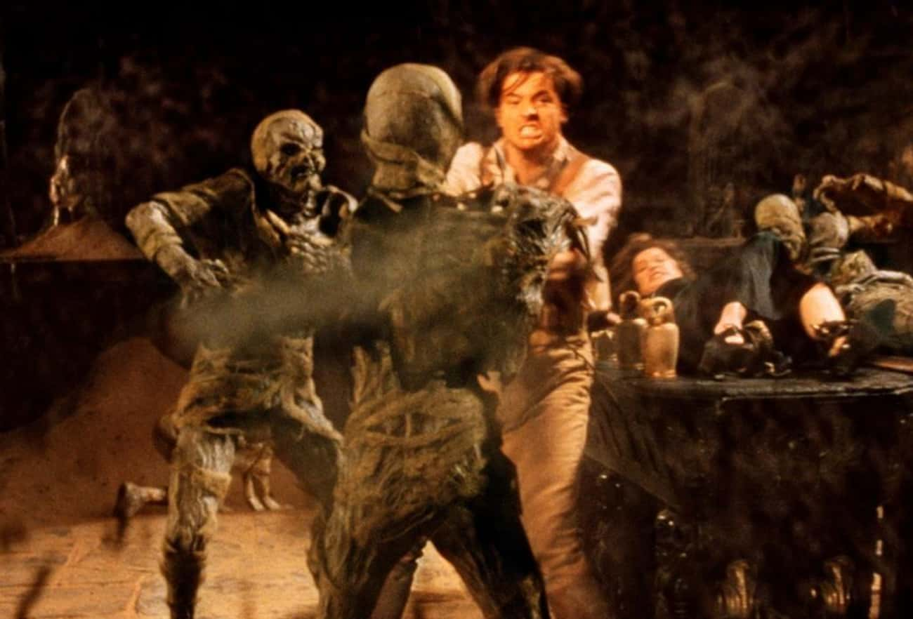 Rick O'Connell Vs. The Mummies is listed (or ranked) 3 on the list 14 Movie Fight Scenes That Would Have Ended Earlier If The Bad Guys Didn't Wait Their Turn To Fight