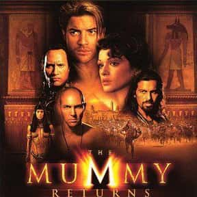 The Mummy Returns is listed (or ranked) 23 on the list The Greatest Guilty Pleasure Movies