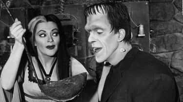 Herman And Lily From 'The Munsters'