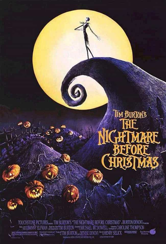 The Nightmare Before Christmas is listed (or ranked) 4 on the list The Best Animated Movie Posters