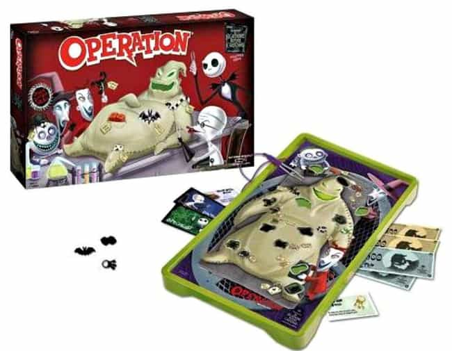 The Nightmare Before Chr... is listed (or ranked) 2 on the list The Best Editions Of The Operation Board Game