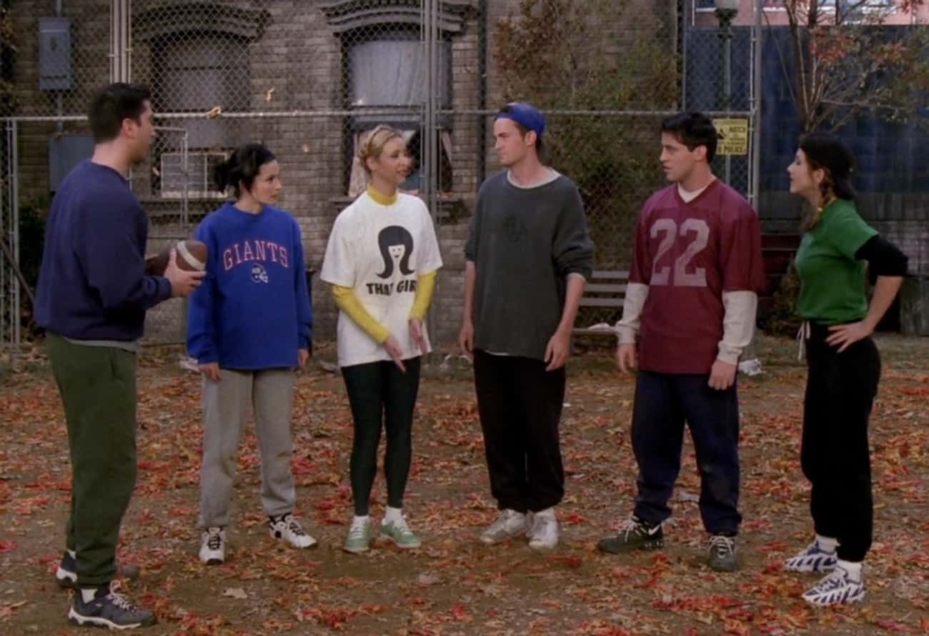 The One with the Football