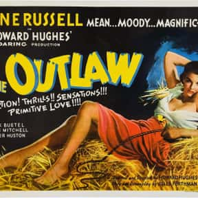 The Outlaw is listed (or ranked) 21 on the list The Best 1940s Western Movies