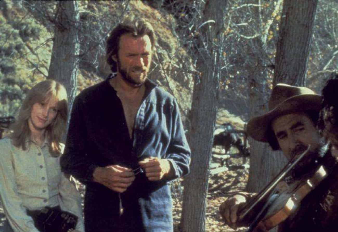 The Outlaw Josey Wales: Clint  is listed (or ranked) 4 on the list 17 Movies That Totally Shattered Celebrity Marriages