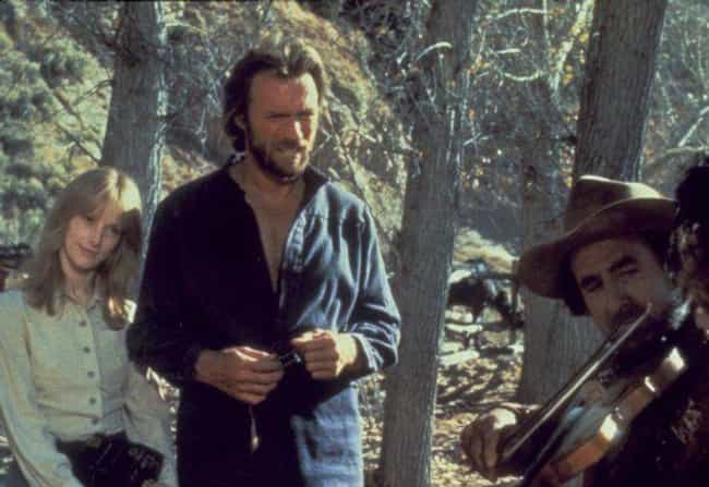 The Outlaw Josey Wales is listed (or ranked) 4 on the list 17 Movies That Totally Shattered Celebrity Marriages