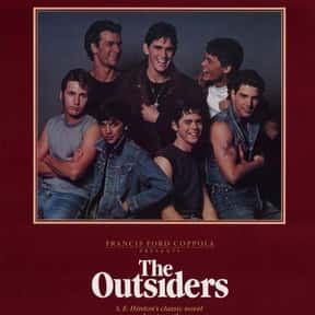 The Outsiders is listed (or ranked) 6 on the list The Best Teen Drama Movies, Ranked
