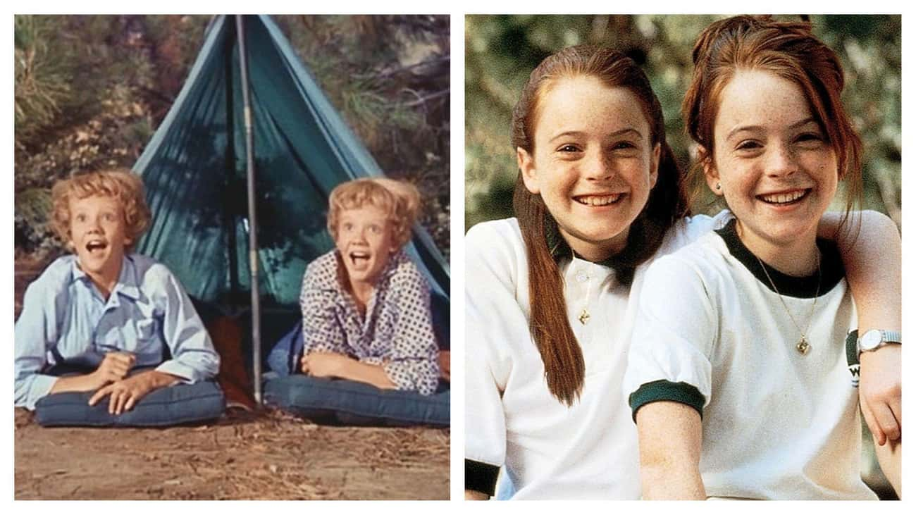 Lindsay Lohan / Hayley Mills In 'The Parent Trap'