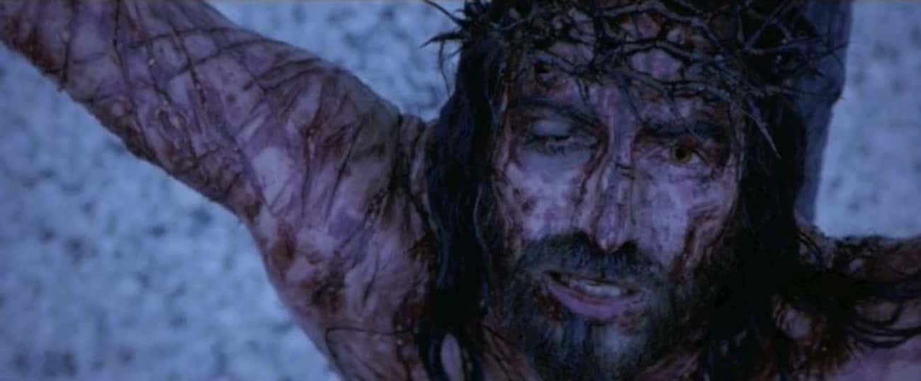 The Crucifixion In The Passion is listed (or ranked) 3 on the list The All-Time Goriest Scenes From Non-Horror Movies