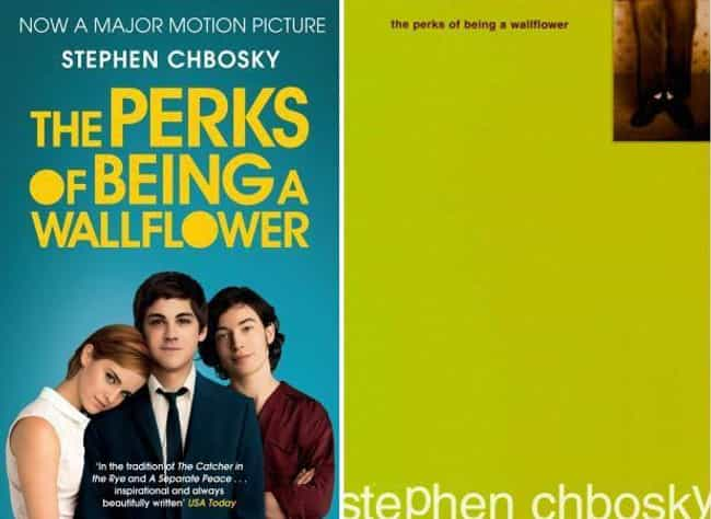 The Perks of Being a Wallflowe... is listed (or ranked) 3 on the list Original Book Covers and the Movie Reissue Covers That Ruined Them