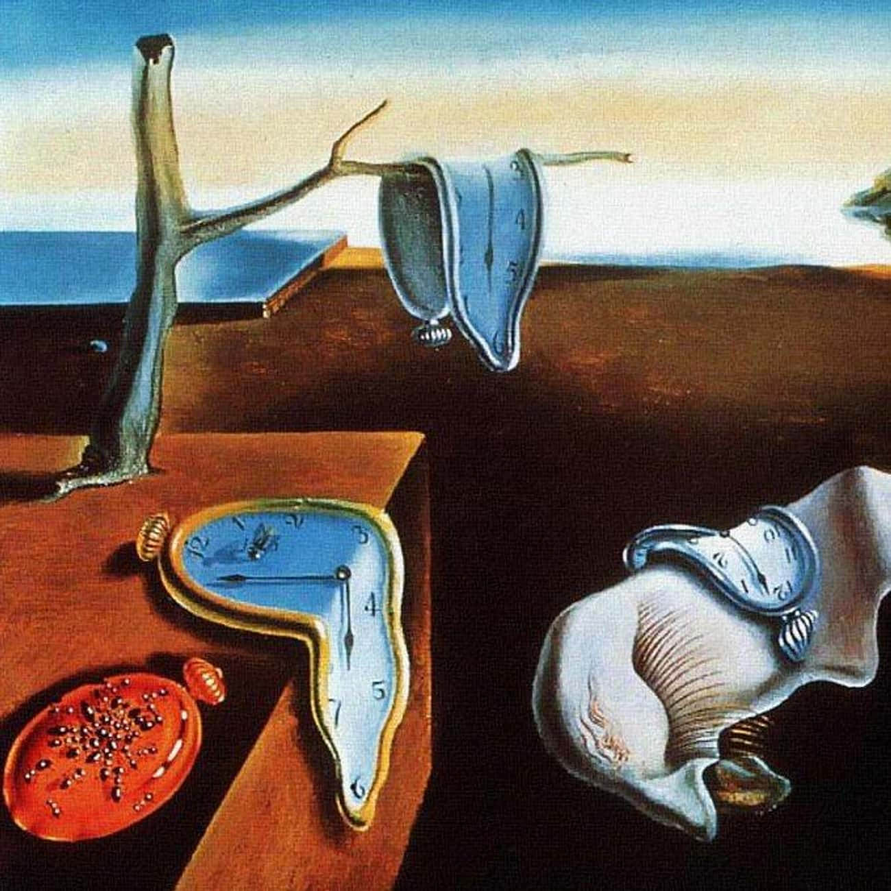 The Persistence of Memory is listed (or ranked) 1 on the list Salvador Dalí's Greatest Works Of Art