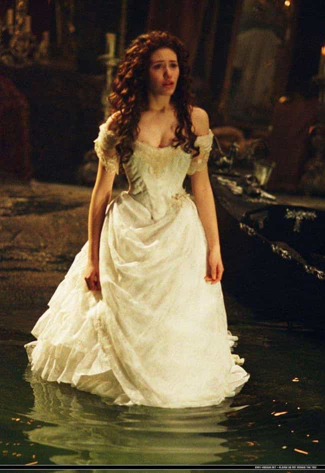 The Phantom of the Opera is listed (or ranked) 4 on the list The Most Gorgeous Movie Wedding Dresses, Ranked