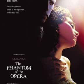The Phantom of the Opera is listed (or ranked) 5 on the list The Best Musical Love Story Movies