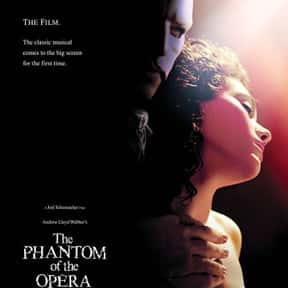 The Phantom of the Opera is listed (or ranked) 2 on the list The Best Gerard Butler Movies