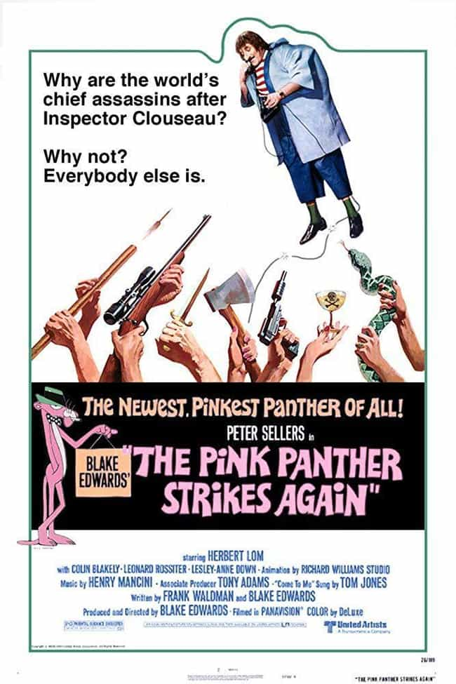 The Pink Panther Strikes... is listed (or ranked) 1 on the list The Best Movies and Series in the Pink Panther Franchise, Ranked