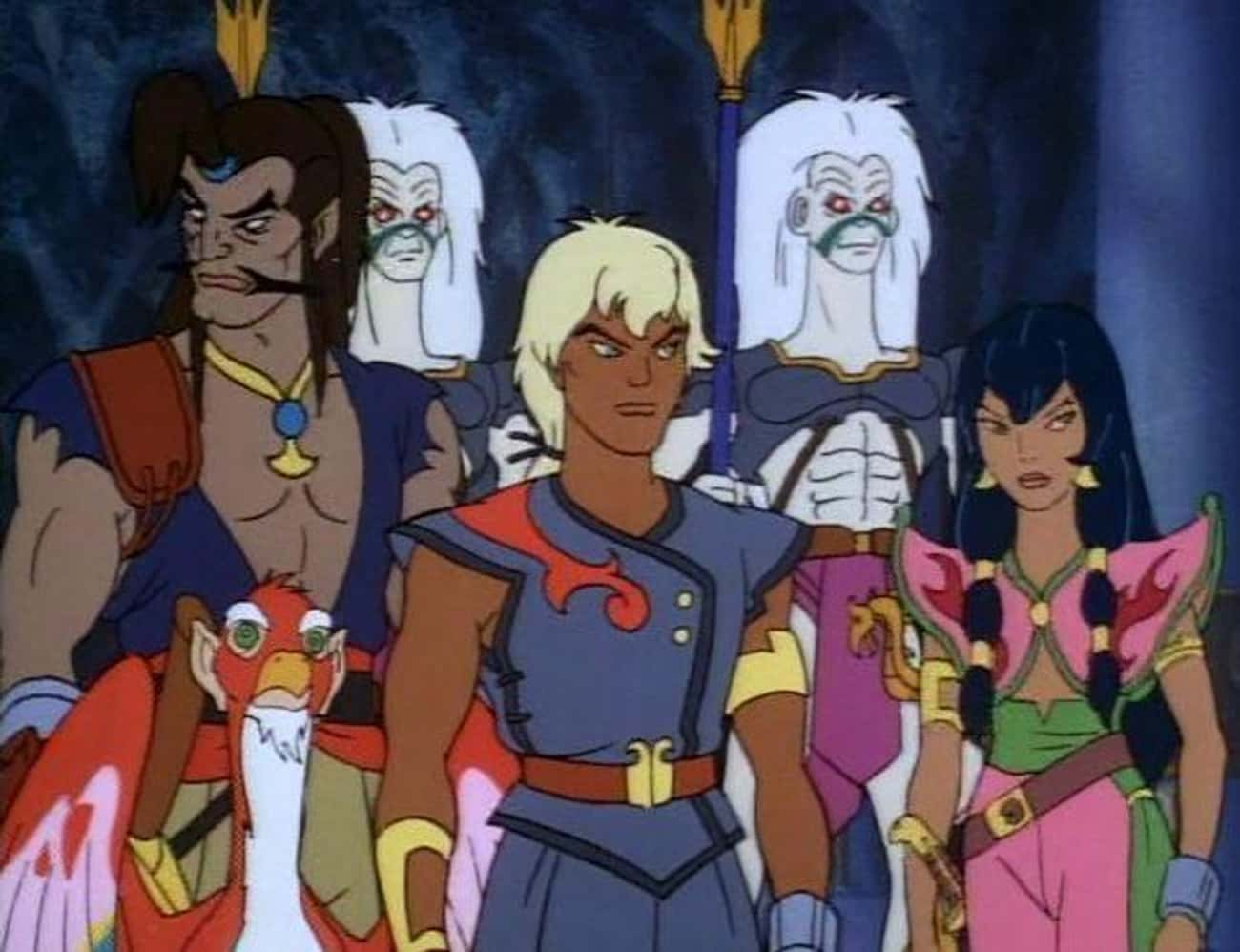 The Pirates of Dark Water is listed (or ranked) 4 on the list 13 Awesome Fox Kids Cartoons You Totally Forgot You Used to Watch