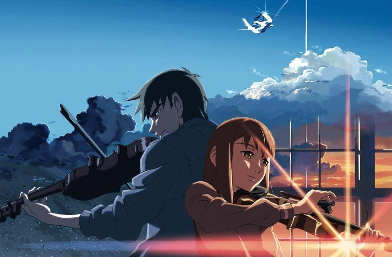 The Place Promised in Our Earl is listed (or ranked) 3 on the list The 11 Best Makoto Shinkai Movies, Ranked