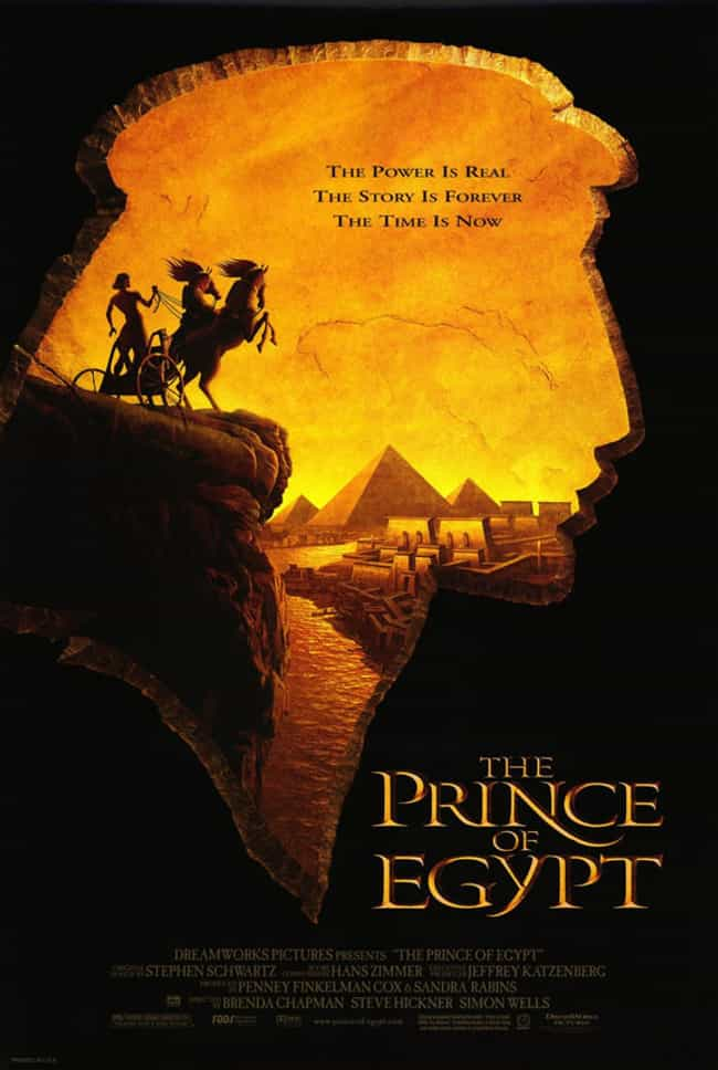 The Prince of Egypt is listed (or ranked) 1 on the list The Best Historical Movies for Kids