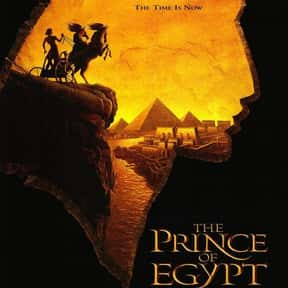 The Prince of Egypt is listed (or ranked) 15 on the list The Best '90s Cartoon Movies