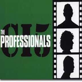 The Professionals is listed (or ranked) 14 on the list The Greatest Western Movies of the 1960s