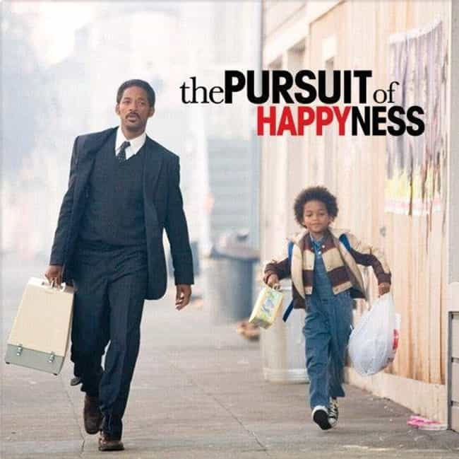The Pursuit of Happyness is listed (or ranked) 8 on the list 28 Movies That Actually Taught Us Something